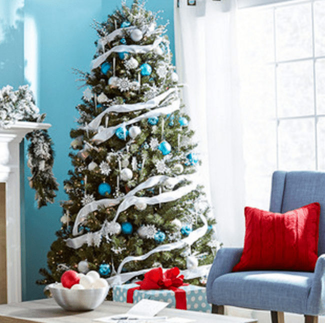 holiday color schemes - Christmas Tree Pictures To Color