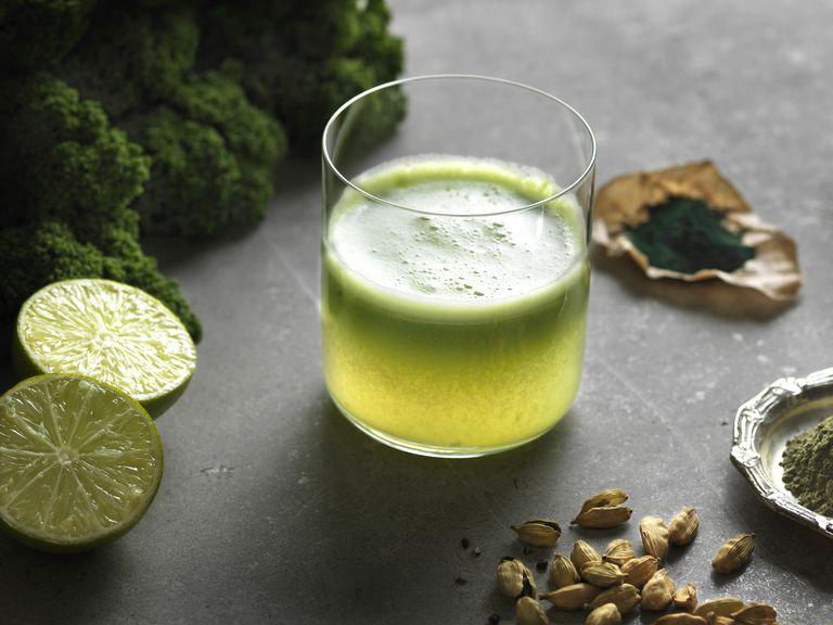 green raw juice