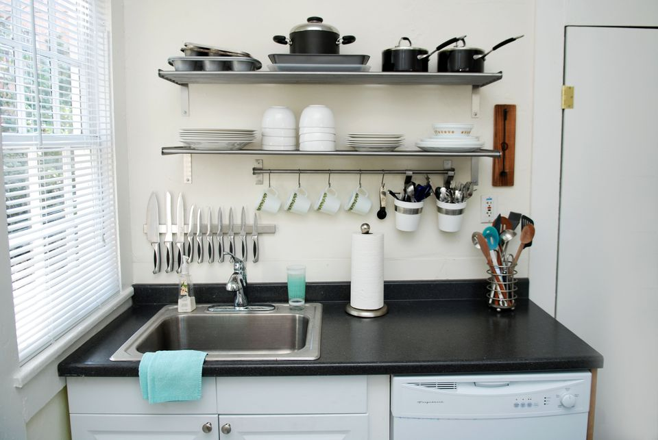 Small Kitchen Spaces 10 space-making hacks for small kitchens