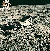 Apollo 11 lunar laser ranging retroreflector array