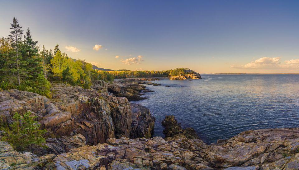 Acadia National Park's beautiful Schooner Head