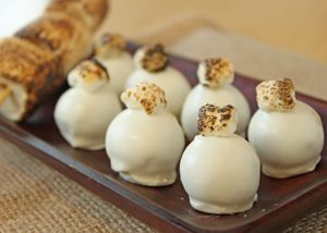 Toasted Marshmallow Truffles photo