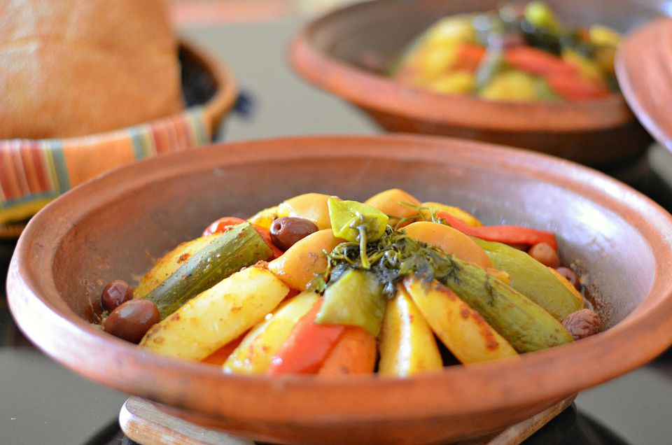 Berber tagine recipe with meat and vegetables moroccan berber tagine with lamb or beef and vegetables forumfinder Image collections