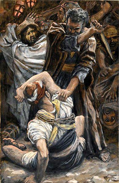 Garden of Gethsemane Jesus arrested disciples ear healing miracle