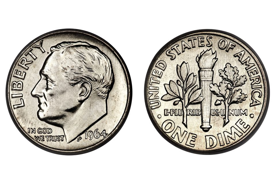 United States Roosevelt Silver Dime