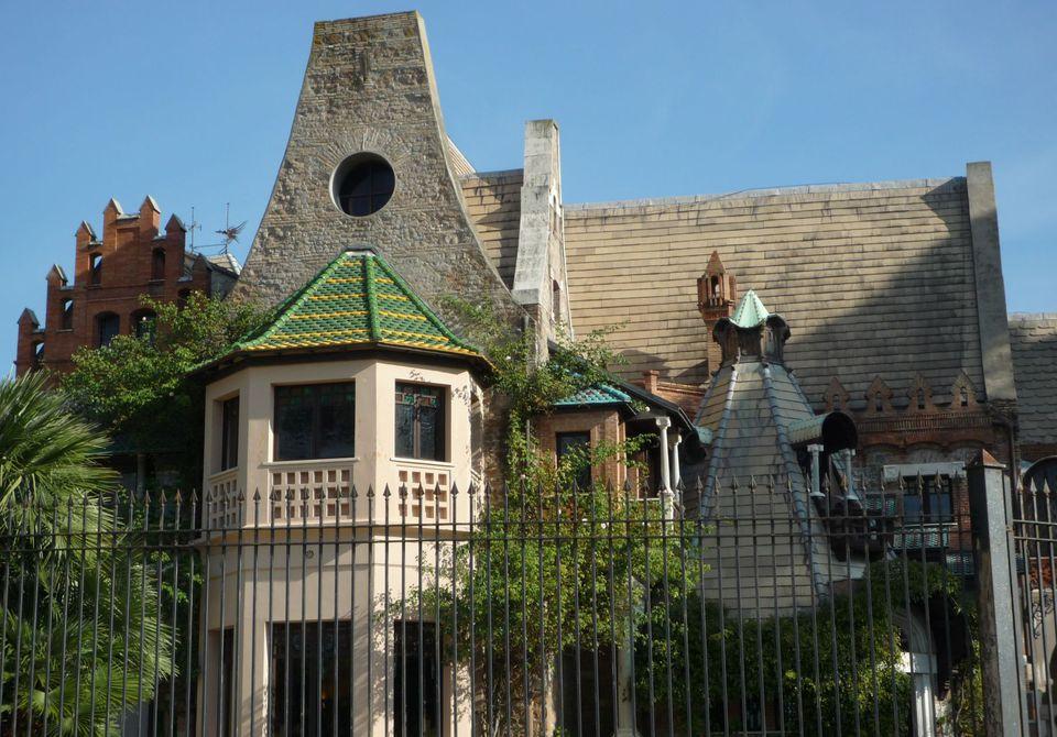 villa torlonia photo, owls' cottage photo