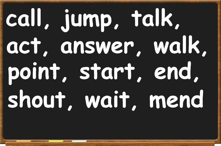 regular verbs
