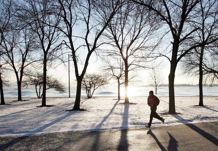 Winter exercise safety