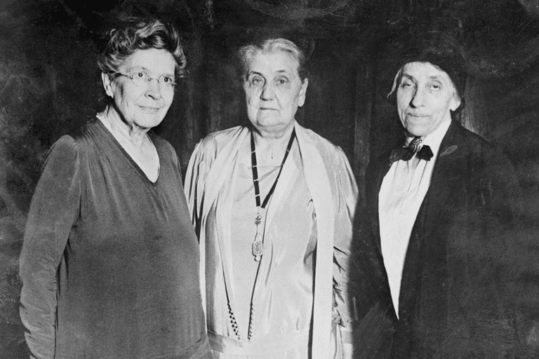 Florence Kelley, Jane Addams, Julia Lathrop