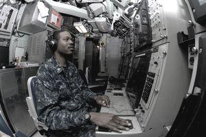 Sonar Technician (Submarines) 2nd Class Harlie Williams III