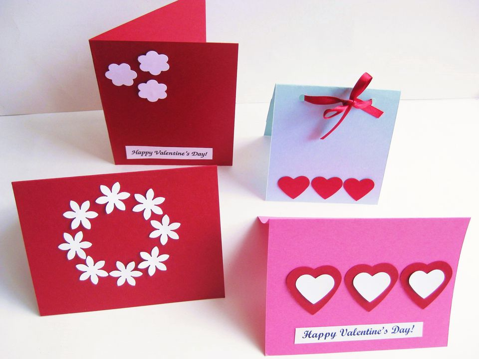 Ideas for Easy and Beautiful Homemade Valentine Cards – Homemade Valentine Cards Ideas