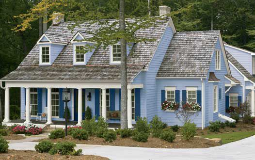 exterior house paint color ideas - Exterior House Colors Blue