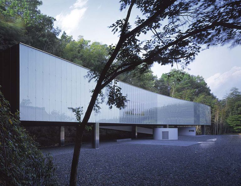 O-Museum in Nagano, Japan. Kazuyo Sejima and Ryue Nishizawa, architects.