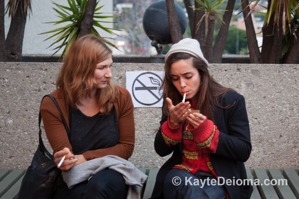 Smoking in a Non-Smoking Zone