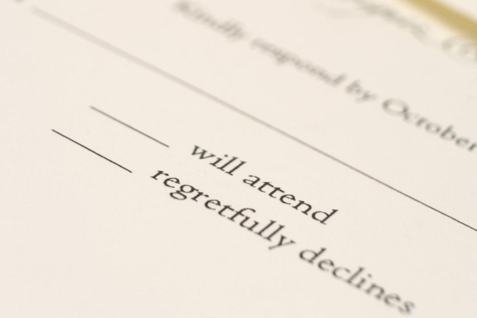 Wedding RSVP Wording How to Word Your RSVPs