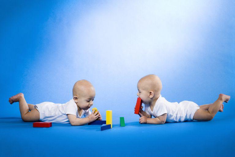 Teething twins