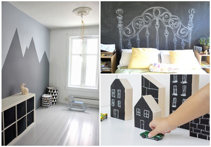 painting ideas for kids roomDIY Chalkboard Paint Ideas for Nurseries  Kids Rooms
