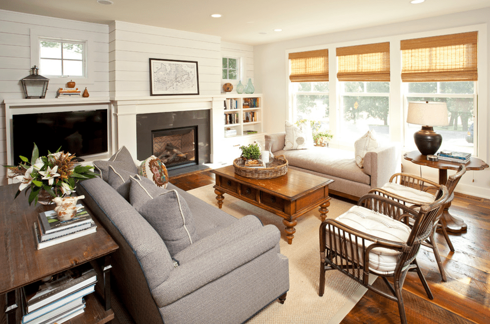 20 Farmhouse Style Living Rooms