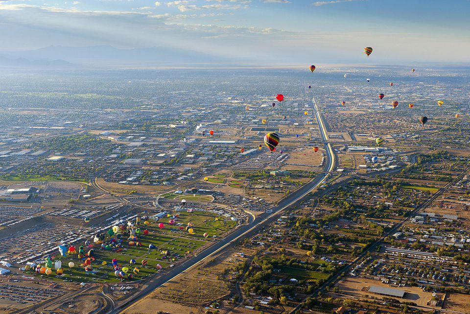 USA, New Mexico, Albuquerque, Albuquerque International Balloon Fiesta