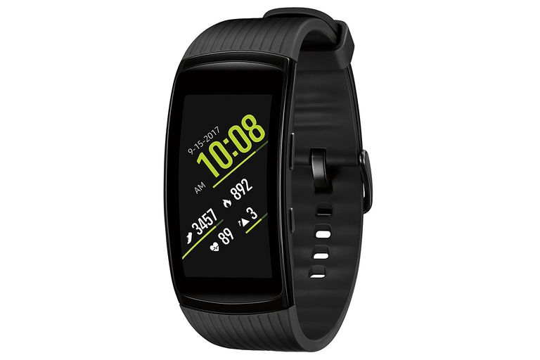 The Samsung Gear Fit2 Pro smartwatch