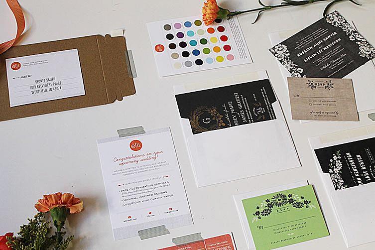 Where to request free wedding invitation samples a wedding invitation sample pack stopboris Images