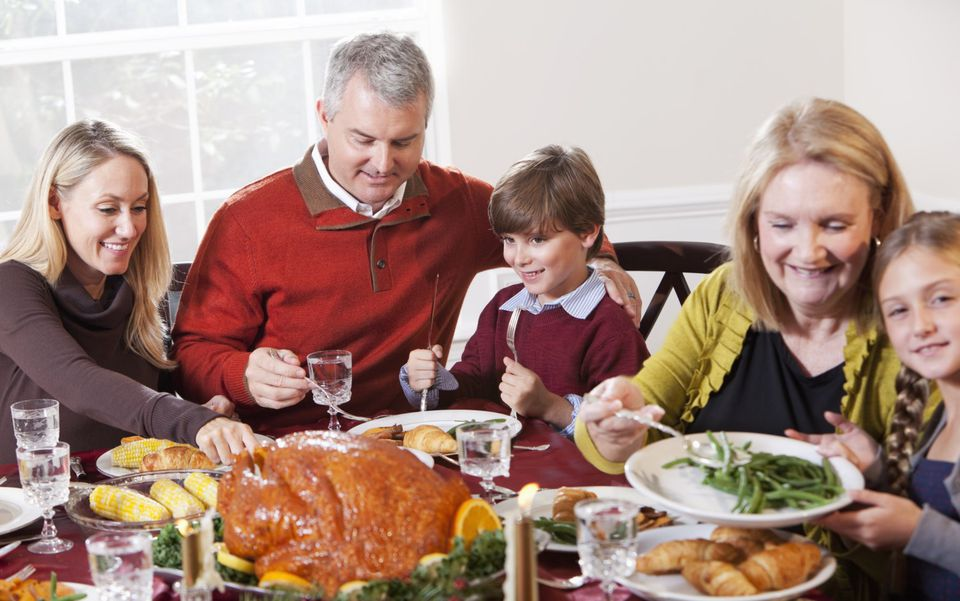 Thanksgiving is a time for family gatherings and activities.