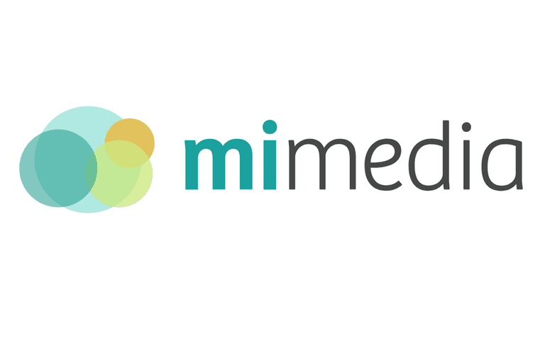 Screenshot of the MiMedia logo