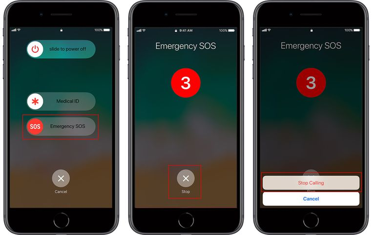 how to turn off emergency sos on iphone