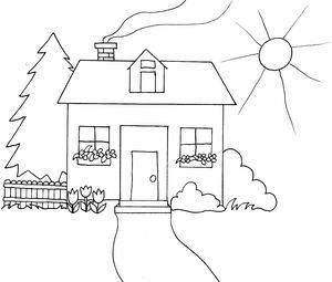 spring coloring pages at coloringws - Free Spring Coloring Pages