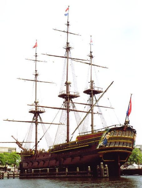 Dutch East Indian Company Transport Ship Reconstruction