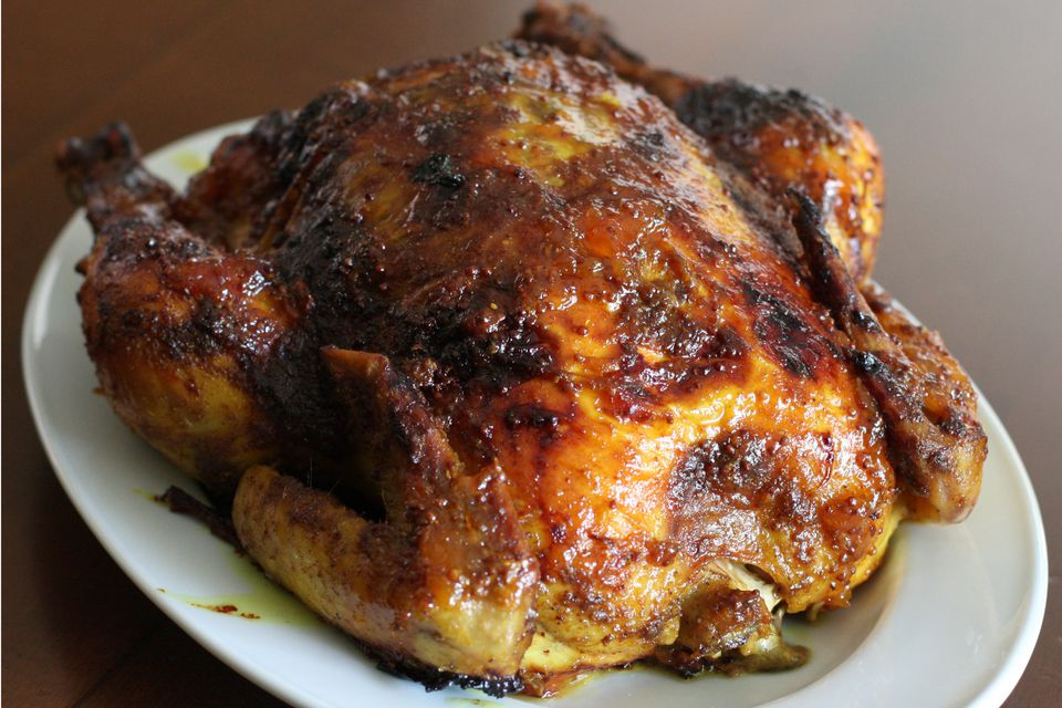Roasted Chicken With Curry Rub