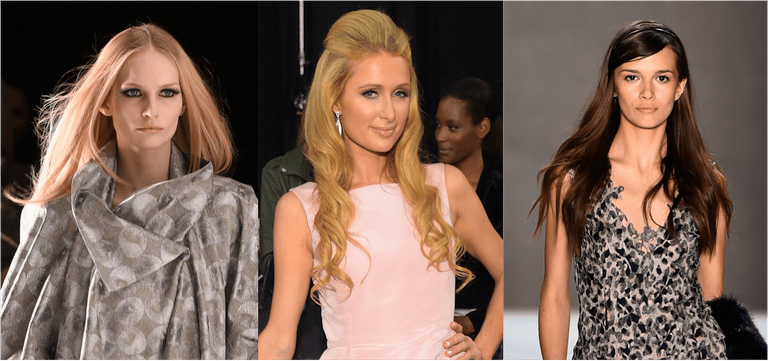 A few of the long hair trends this year