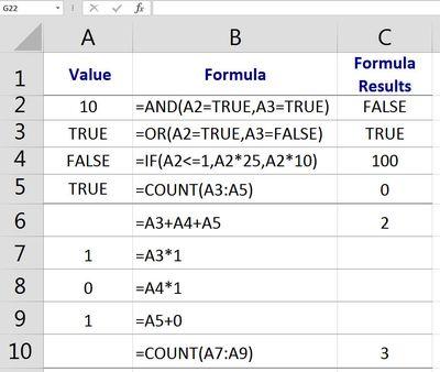 formula definition excel