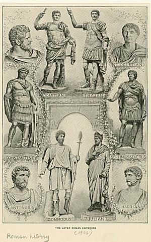 Image ID: 1624736. The later Roman emperors.