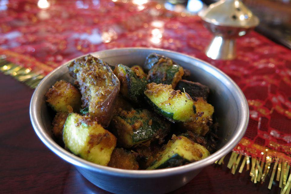 Zucchini Ki Bhaji
