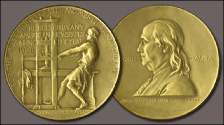 Medalla del premio Pulitzer