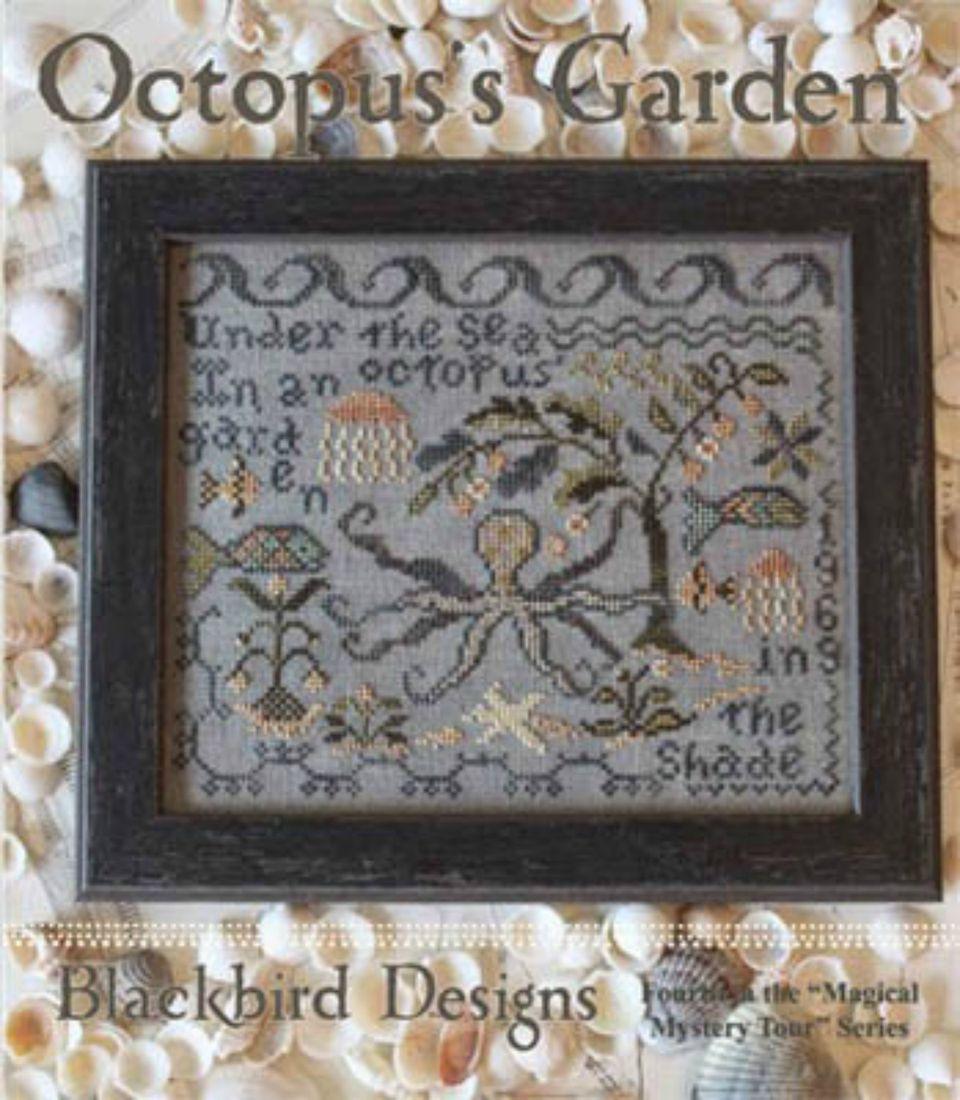 25 garden inspired cross stitch patterns for spring for Blackbird designs english garden
