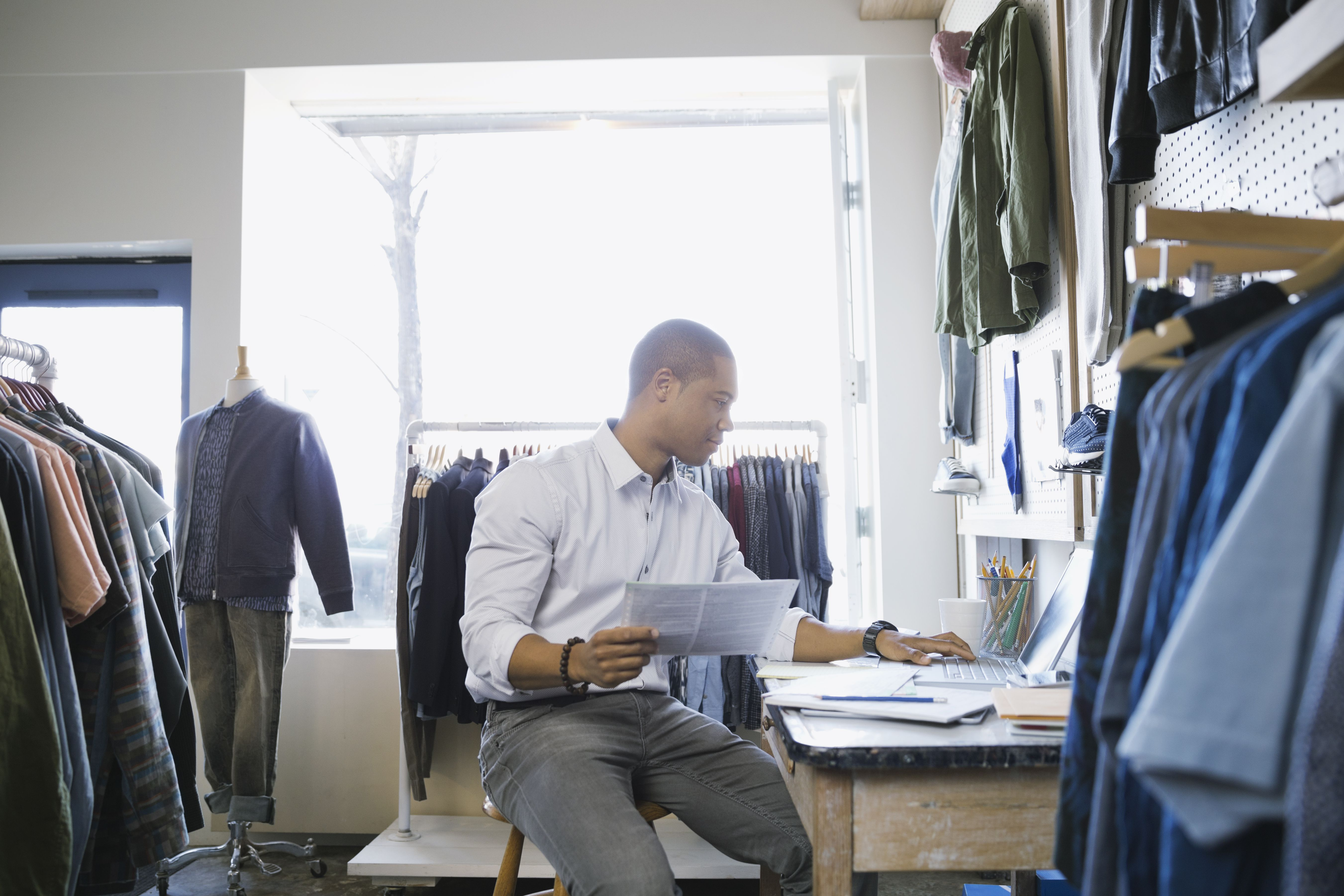 How to work in a clothing store