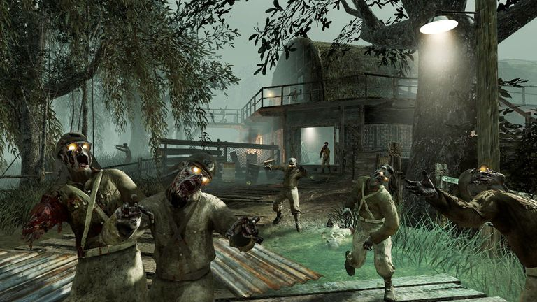 Call of duty zombies maps and game modes shi no numa call of duty zombies map gumiabroncs Choice Image