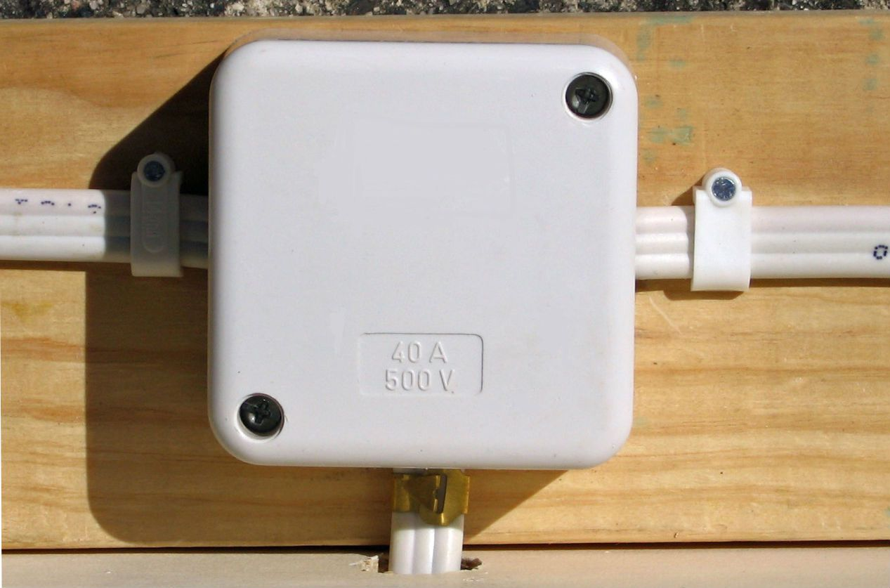 Surface Mounted Eb A F B Ef E F on electrical wall outlet wiring