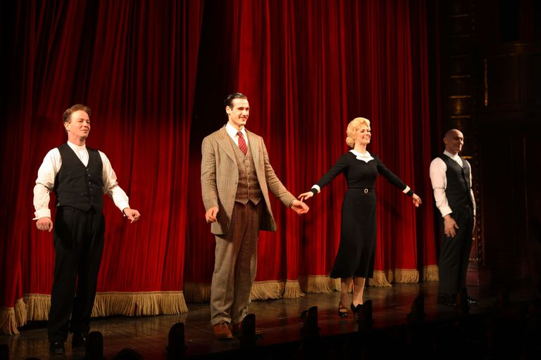The 39 Steps curtain call on opening night