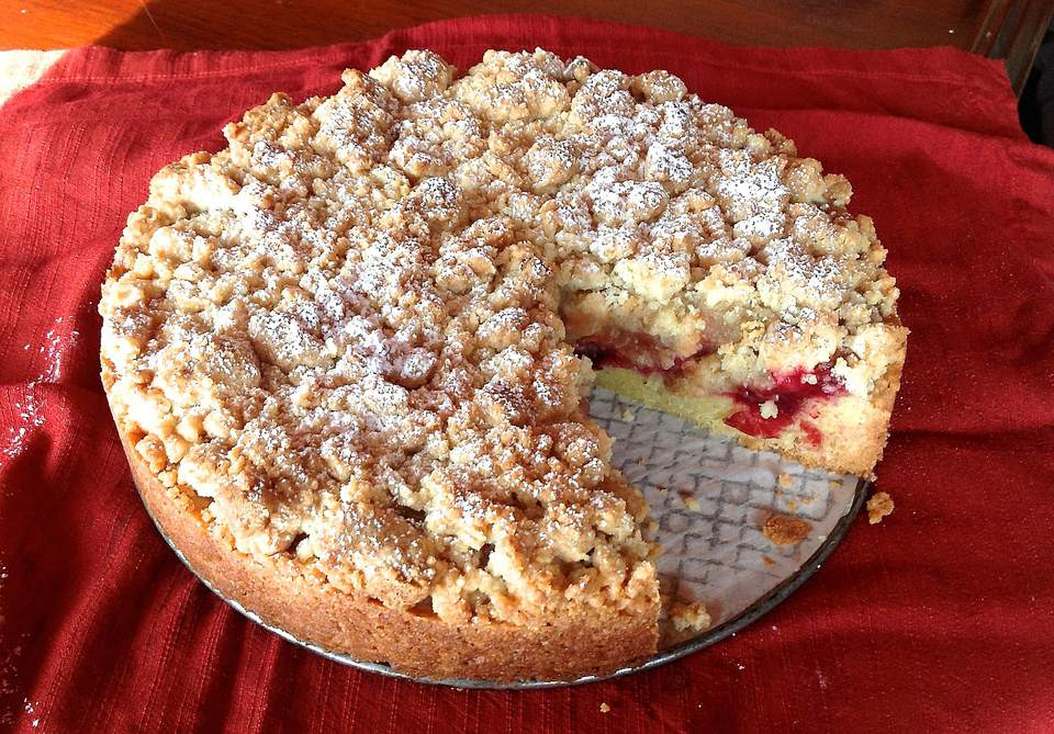 Apple Crumb Coffee Cake Food And Wine