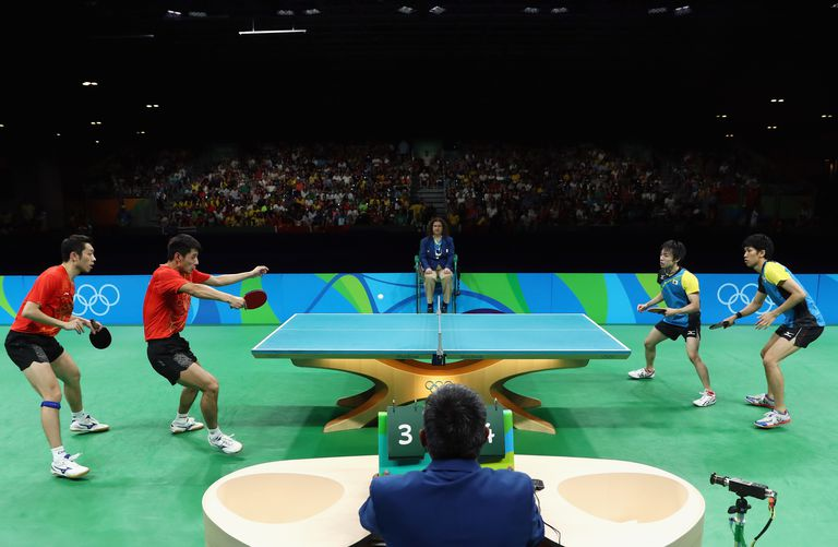 Olympic Ping Pong Rules and Laws