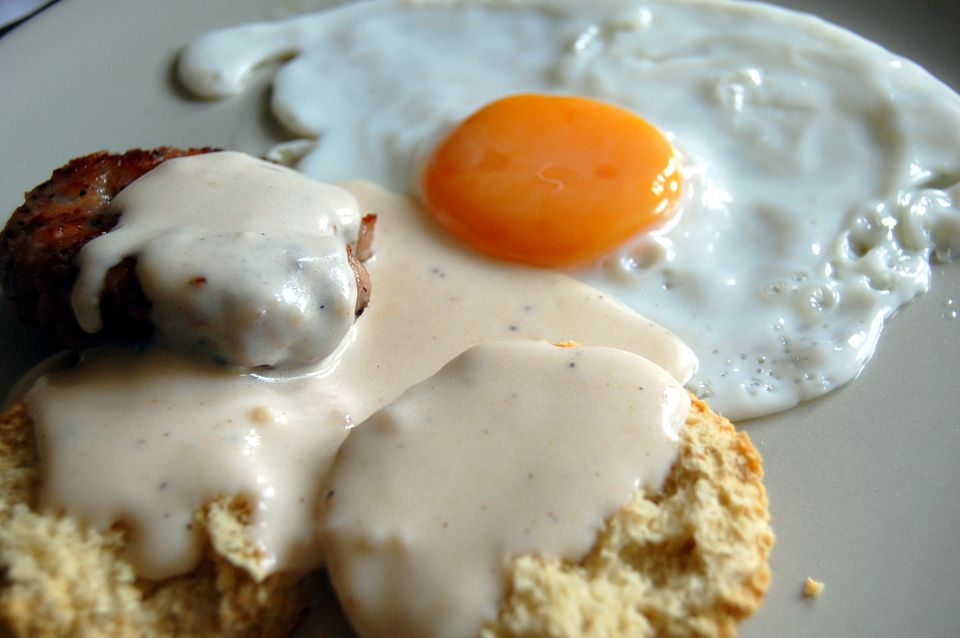 Biscuits and Cream Gravy