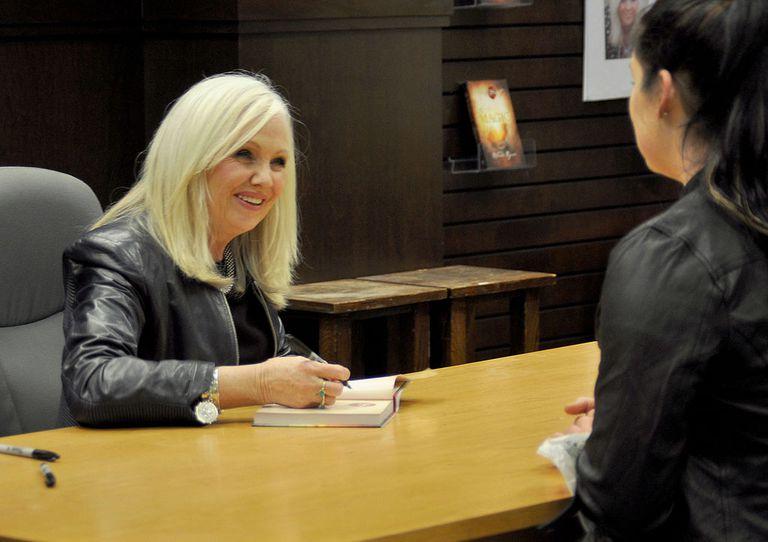 Rhonda Byrne Signs Copies Of Her New Book 'Hero'