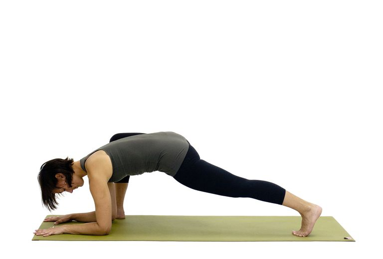 Lizard Yoga Pose (Utthan Pristhasana)