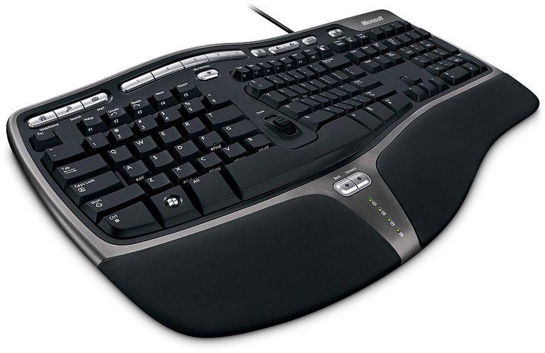 Photo of a Microsoft Natural Ergonmic Keyboard 4000