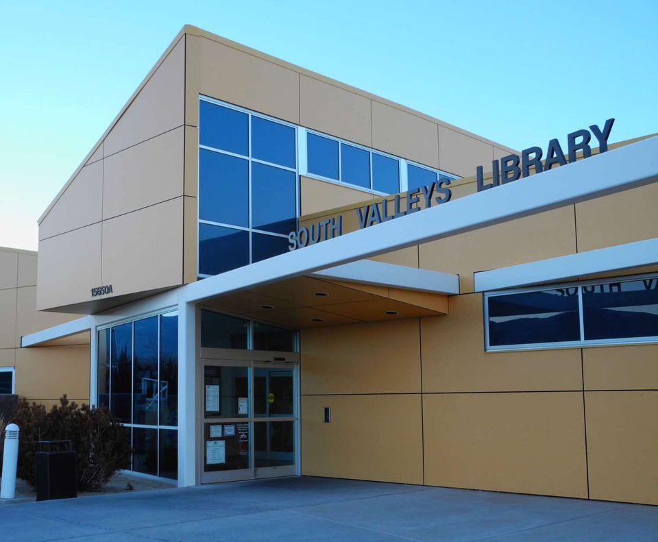 South Valleys Library in Reno, Nevada, NV