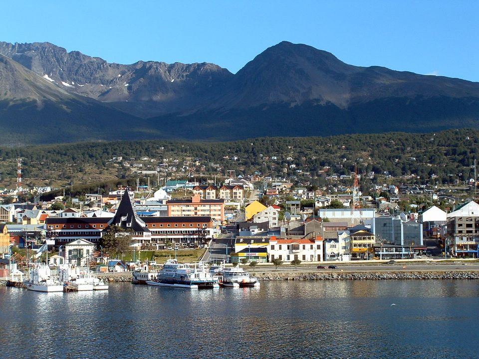 Ushuaia, Argentina at the end of the world