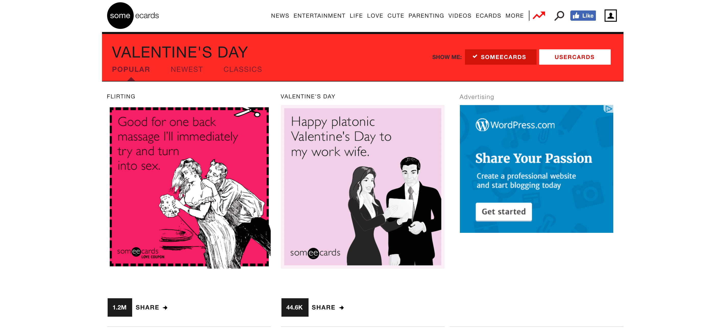 9 great sites with free valentine ecards kristyandbryce Image collections